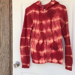 FP Floral Tie Dye Embroidered Hoodie